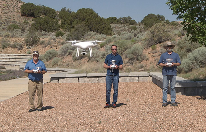 three full-time FAA Certified drone pilots on staff