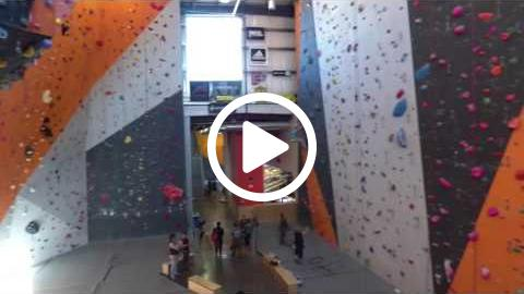 David Farris Climbing Drone Footage