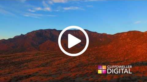 Drone Footage - Sandia Sunset