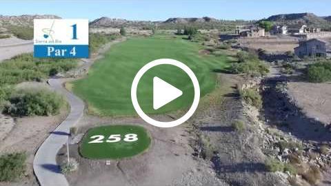 Sierra Del Rio Golf Course - Hole 1 Tour